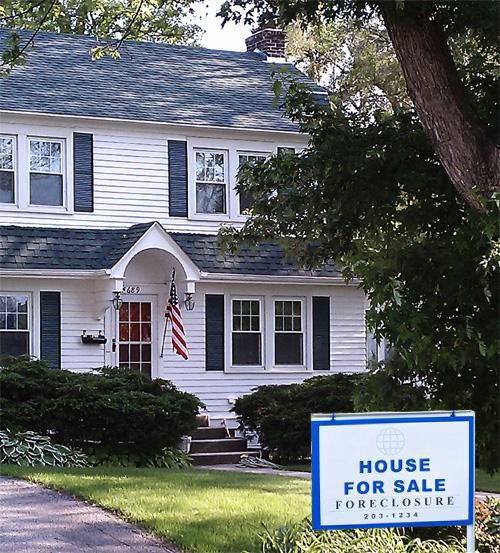 New Foreclosures Plummet