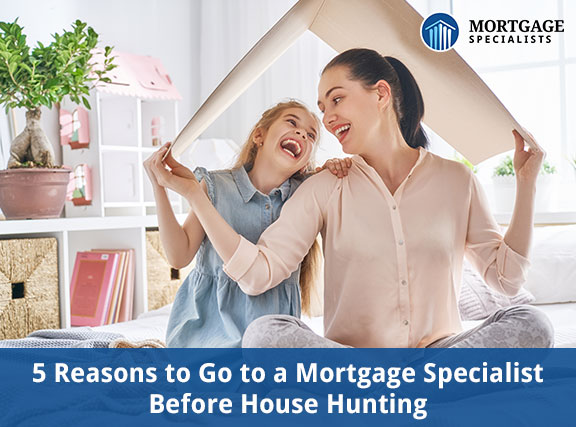 5 Reasons to Go to a Mortgage Specialist Before House Hunting