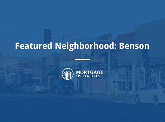 Featured Neighborhood: Benson