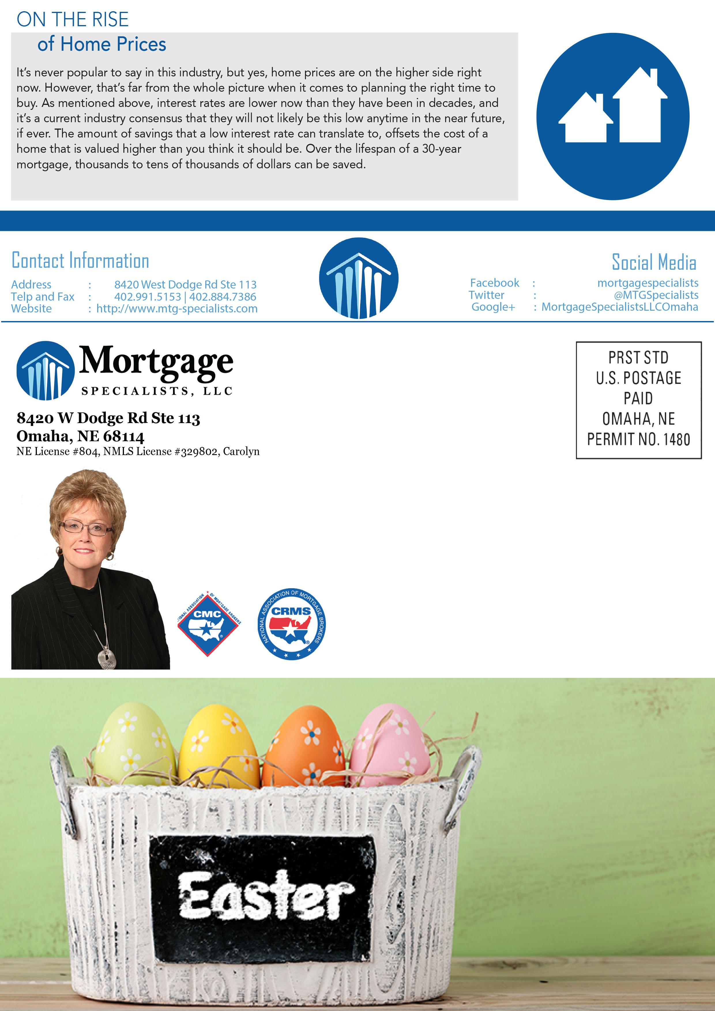 March Newsletter Carolyn