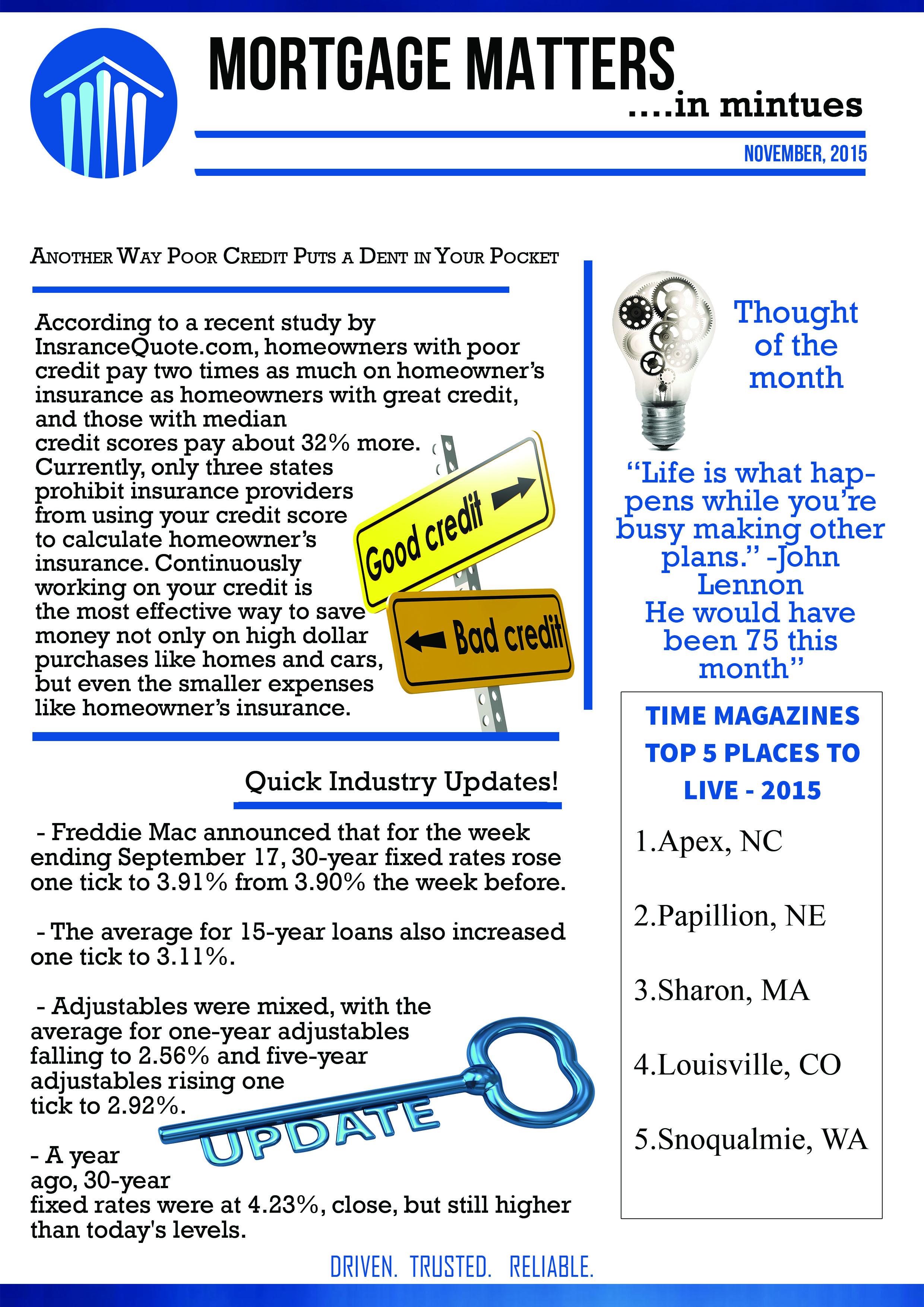 inside of newsletter template