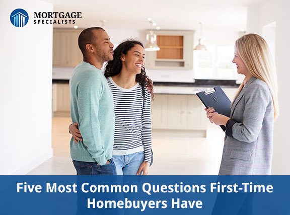 Five Most Common Questions First-Time Homebuyers Have