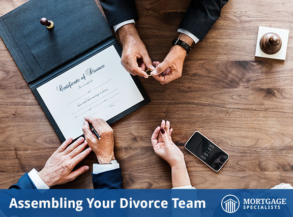 Assembling Your Divorce Team