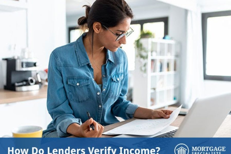How Do Lenders Verify Income?